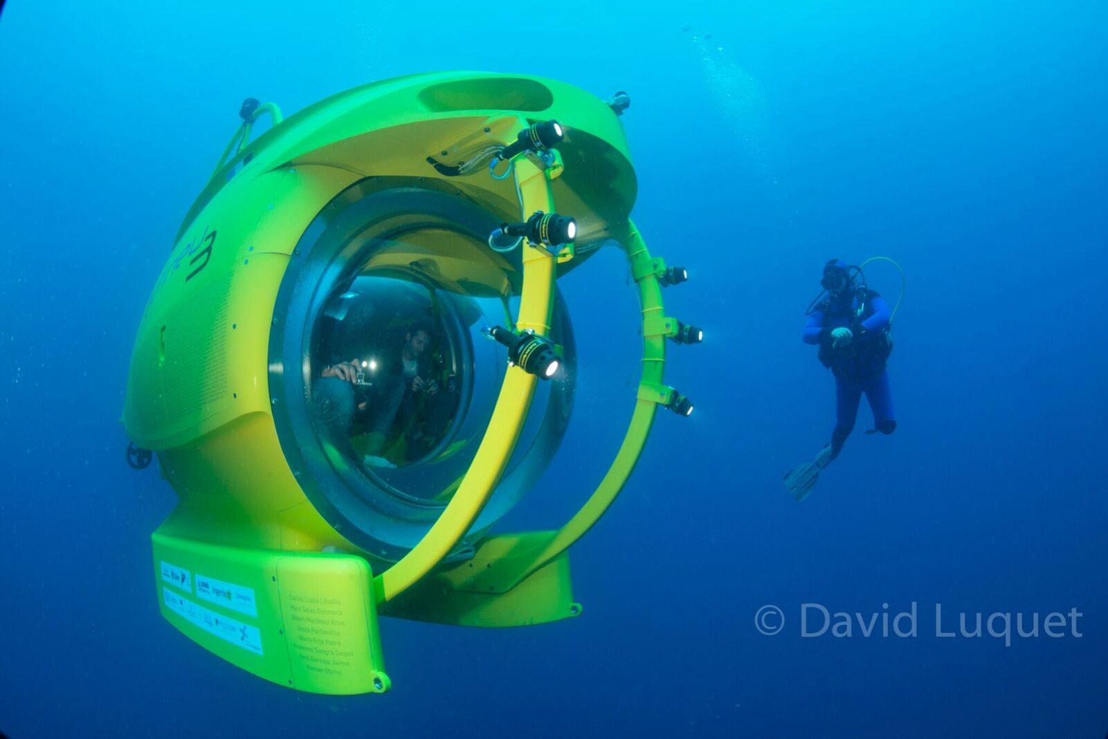Els promotors de l'Ictineu 3 enceten una nova campanya per finançar l'exploració científica a l'entorn subaquàtic de les Illes Formigues.